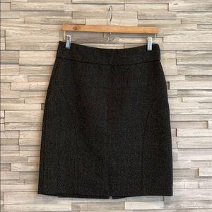 Banana Republic Black & White Pencil Skirt, 6
